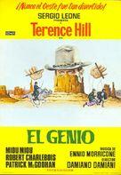 Un genio, due compari, un pollo - Spanish Movie Poster (xs thumbnail)