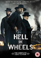 """Hell on Wheels"" - British DVD movie cover (xs thumbnail)"