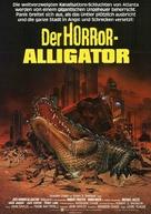Alligator - German Movie Poster (xs thumbnail)