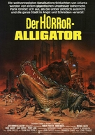 Alligator - German Movie Poster (xs thumbnail)
