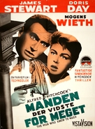 The Man Who Knew Too Much - Norwegian Movie Poster (xs thumbnail)