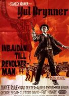 Invitation to a Gunfighter - Swedish Movie Poster (xs thumbnail)