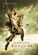 The Forbidden Kingdom - German Movie Poster (xs thumbnail)