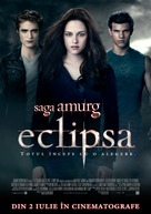 The Twilight Saga: Eclipse - Romanian Movie Poster (xs thumbnail)