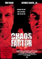 The Chaos Factor - German DVD movie cover (xs thumbnail)