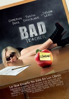 Bad Teacher - Spanish Movie Poster (xs thumbnail)