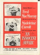 An Innocent Affair - poster (xs thumbnail)