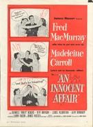 An Innocent Affair - poster (xs thumbnail)