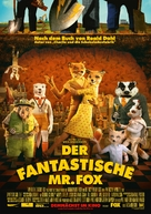 Fantastic Mr. Fox - German Movie Poster (xs thumbnail)