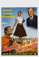 Peccato che sia una canaglia - Belgian Movie Poster (xs thumbnail)