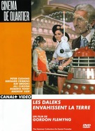 Daleks' Invasion Earth: 2150 A.D. - French DVD cover (xs thumbnail)