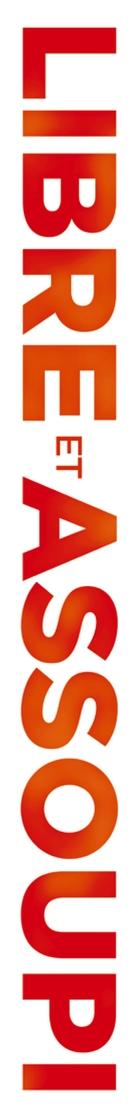 Libre et assoupi - French Logo (xs thumbnail)