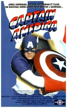 Captain America - French VHS movie cover (xs thumbnail)