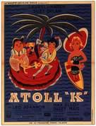 Atoll K - French Movie Poster (xs thumbnail)