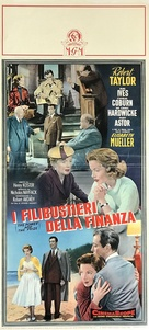 The Power and the Prize - Italian Movie Poster (xs thumbnail)