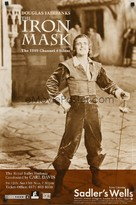 The Iron Mask - British Movie Poster (xs thumbnail)