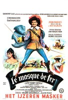 Masque de fer, Le - Belgian Movie Poster (xs thumbnail)