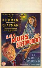 The Walls Came Tumbling Down - Belgian Movie Poster (xs thumbnail)