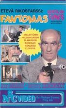 Fantômas - Finnish VHS movie cover (xs thumbnail)