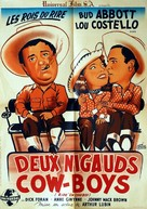Ride 'Em Cowboy - French Movie Poster (xs thumbnail)