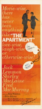 The Apartment - Movie Poster (xs thumbnail)