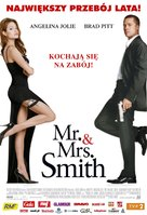 Mr. & Mrs. Smith - Polish Movie Poster (xs thumbnail)
