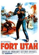 Fort Utah - Belgian Movie Poster (xs thumbnail)