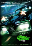 The Green Hornet - Spanish Movie Poster (xs thumbnail)