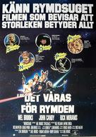 Spaceballs - Swedish Movie Poster (xs thumbnail)