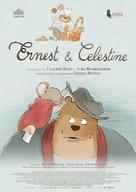 Ernest et Célestine - Italian Movie Poster (xs thumbnail)