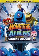 """Monsters vs. Aliens"" - DVD movie cover (xs thumbnail)"