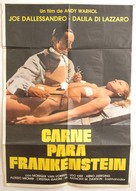 Flesh for Frankenstein - Chilean Movie Poster (xs thumbnail)