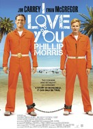 I Love You Phillip Morris - British Movie Poster (xs thumbnail)
