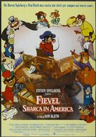 An American Tail - Italian Movie Poster (xs thumbnail)