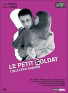 Le petit soldat - French DVD cover (xs thumbnail)
