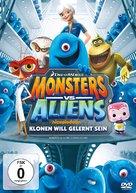 """Monsters vs. Aliens"" - German DVD cover (xs thumbnail)"