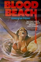 Blood Beach - German Movie Poster (xs thumbnail)
