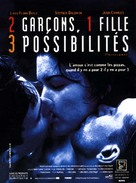 Threesome - French DVD cover (xs thumbnail)
