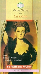 The Little Foxes - Argentinian VHS cover (xs thumbnail)