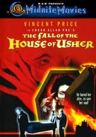 House of Usher - DVD cover (xs thumbnail)