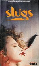 Slugs, muerte viscosa - Brazilian VHS movie cover (xs thumbnail)