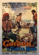 Gordon, il pirata nero - Italian Movie Poster (xs thumbnail)