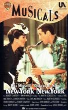 New York, New York - German VHS movie cover (xs thumbnail)