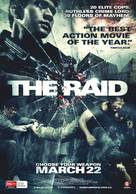 Serbuan maut - Australian Movie Poster (xs thumbnail)
