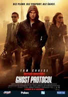 Mission: Impossible - Ghost Protocol - Slovak Movie Poster (xs thumbnail)