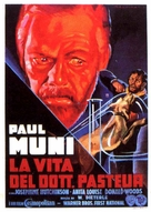 The Story of Louis Pasteur - Italian Movie Poster (xs thumbnail)
