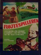 Fløjtespilleren - Danish Movie Poster (xs thumbnail)