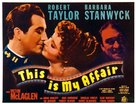 This Is My Affair - Movie Poster (xs thumbnail)