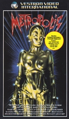 Metropolis - Finnish VHS movie cover (xs thumbnail)