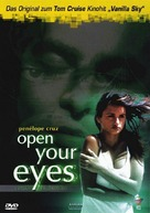 Abre los ojos - German Movie Cover (xs thumbnail)